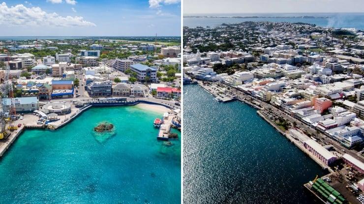 Bermuda VS Cayman Islands