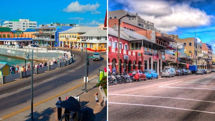 Bermuda VS Grand Cayman