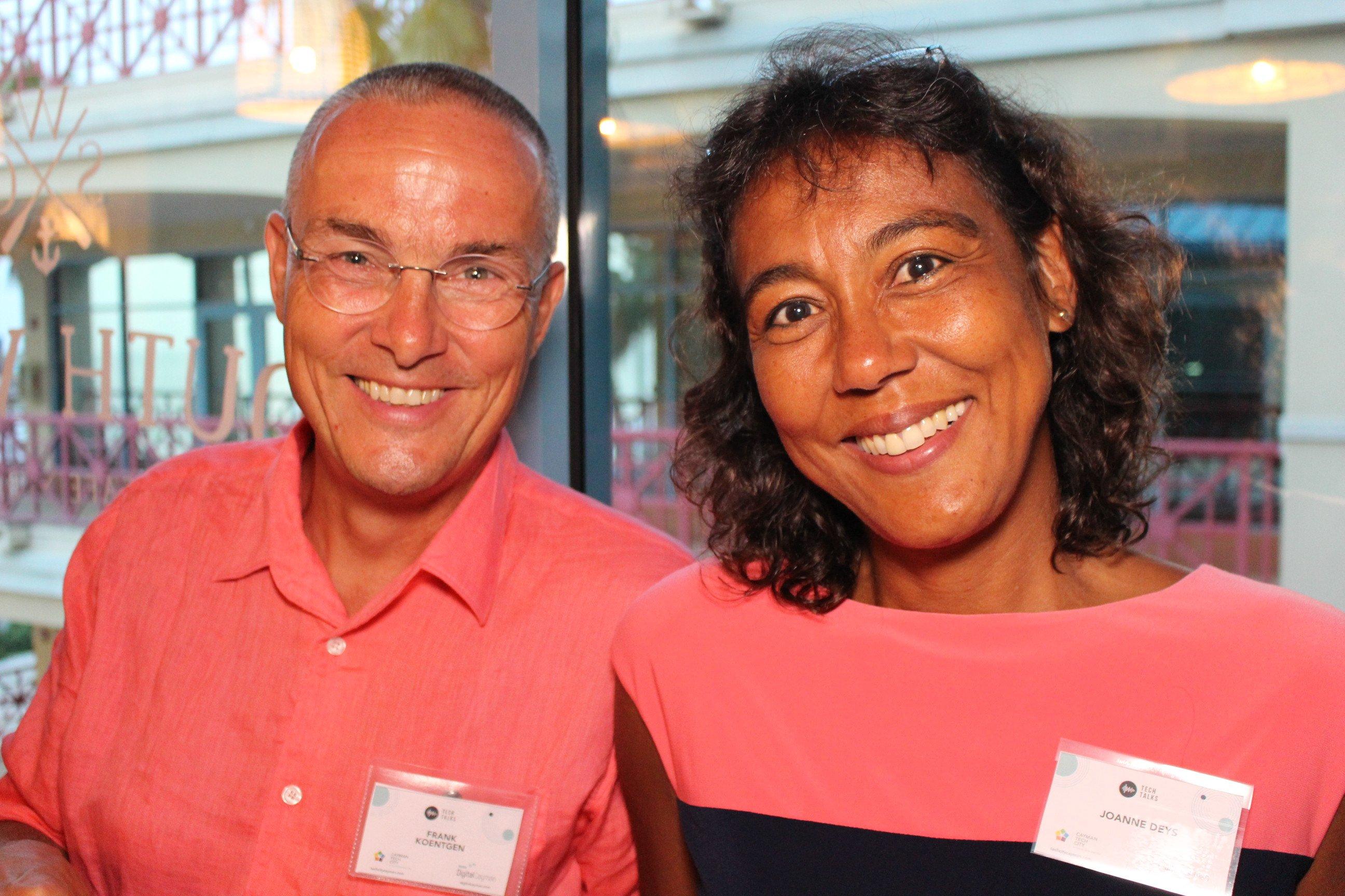 CEC Community Member Dr. Frank Koentgen and Joanne Deys