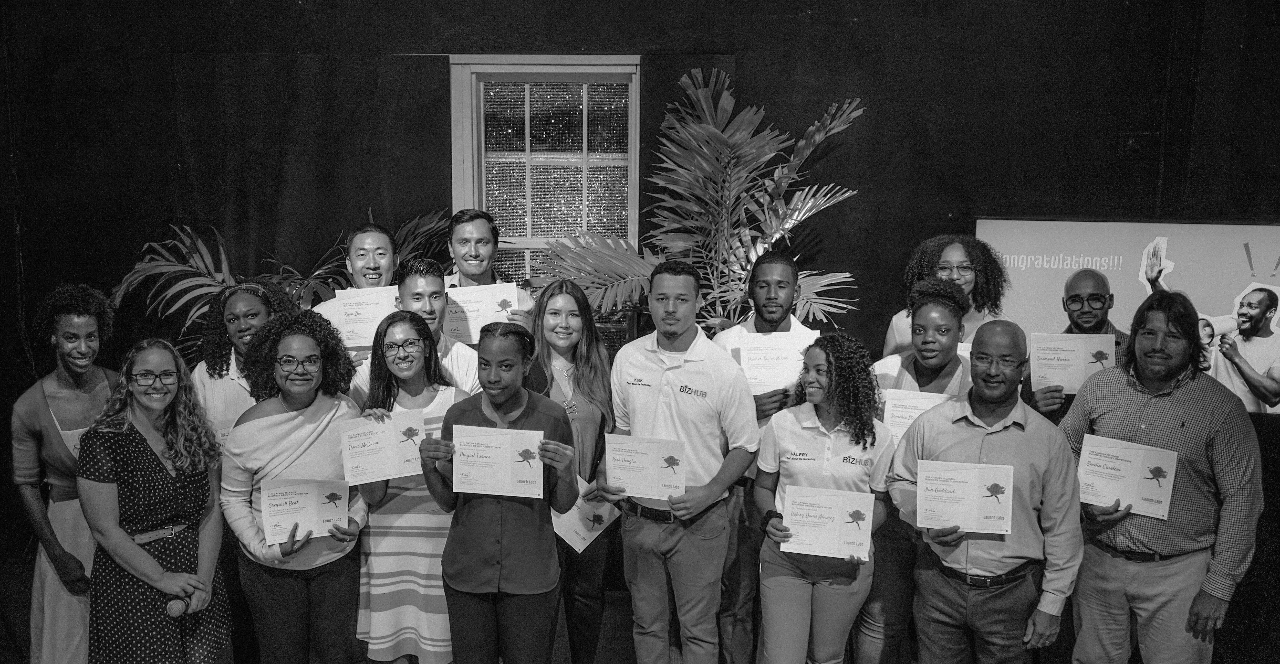 Cayman Islands Business Design Competition Group Shot