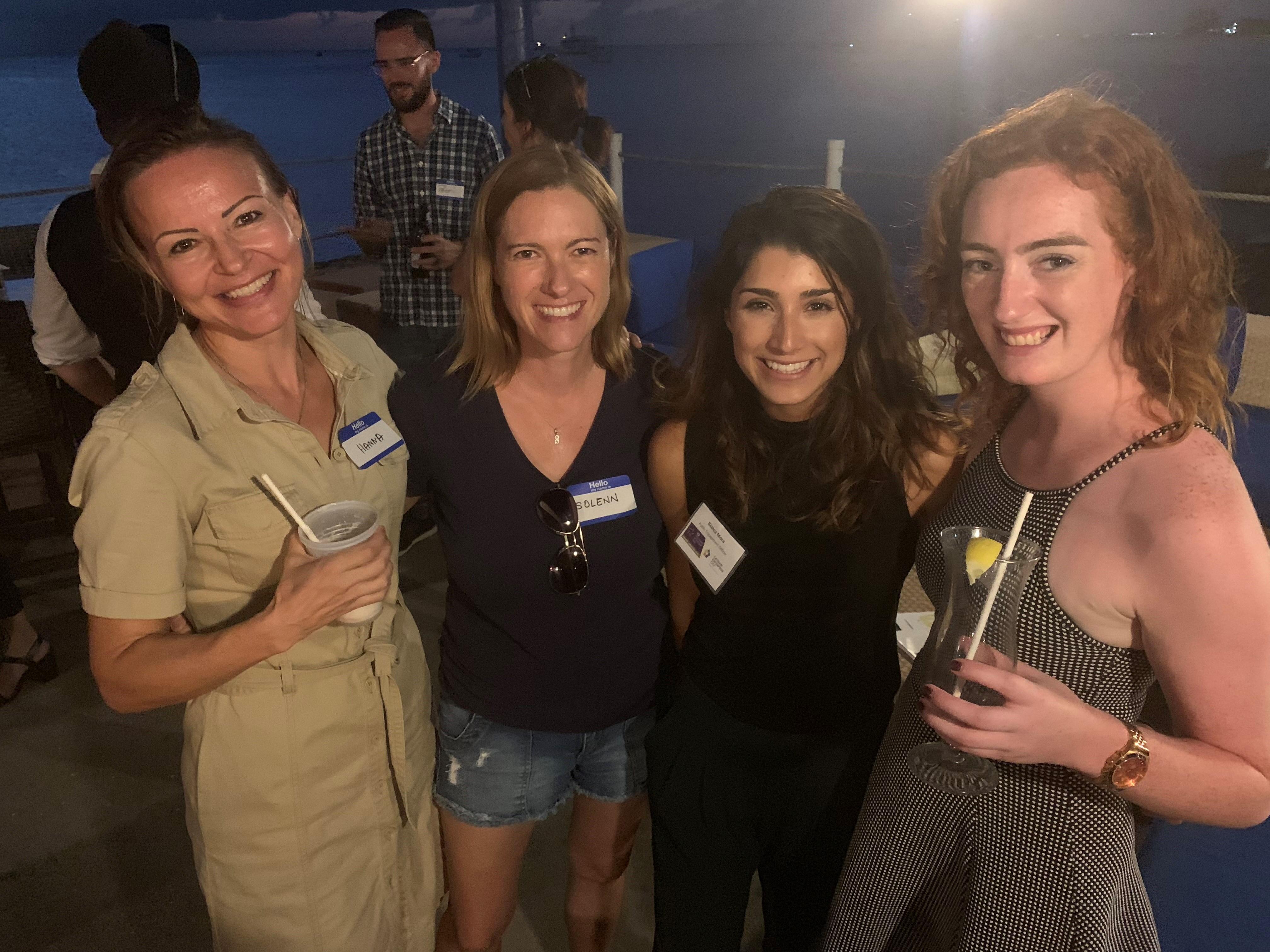 Hannah Walerjanczyk, Solenn Carriou, Bianca Mora, and Claire Murray