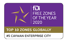 Cayman Enterprise City Winner of the Americas fDi Awards