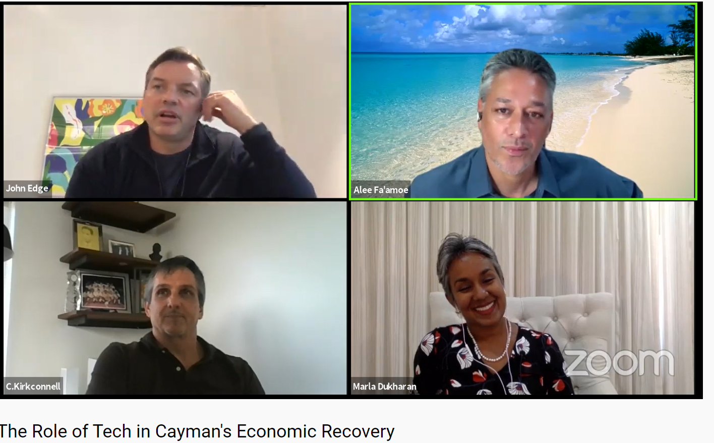 The Role of Tech In Cayman Economic Recovery