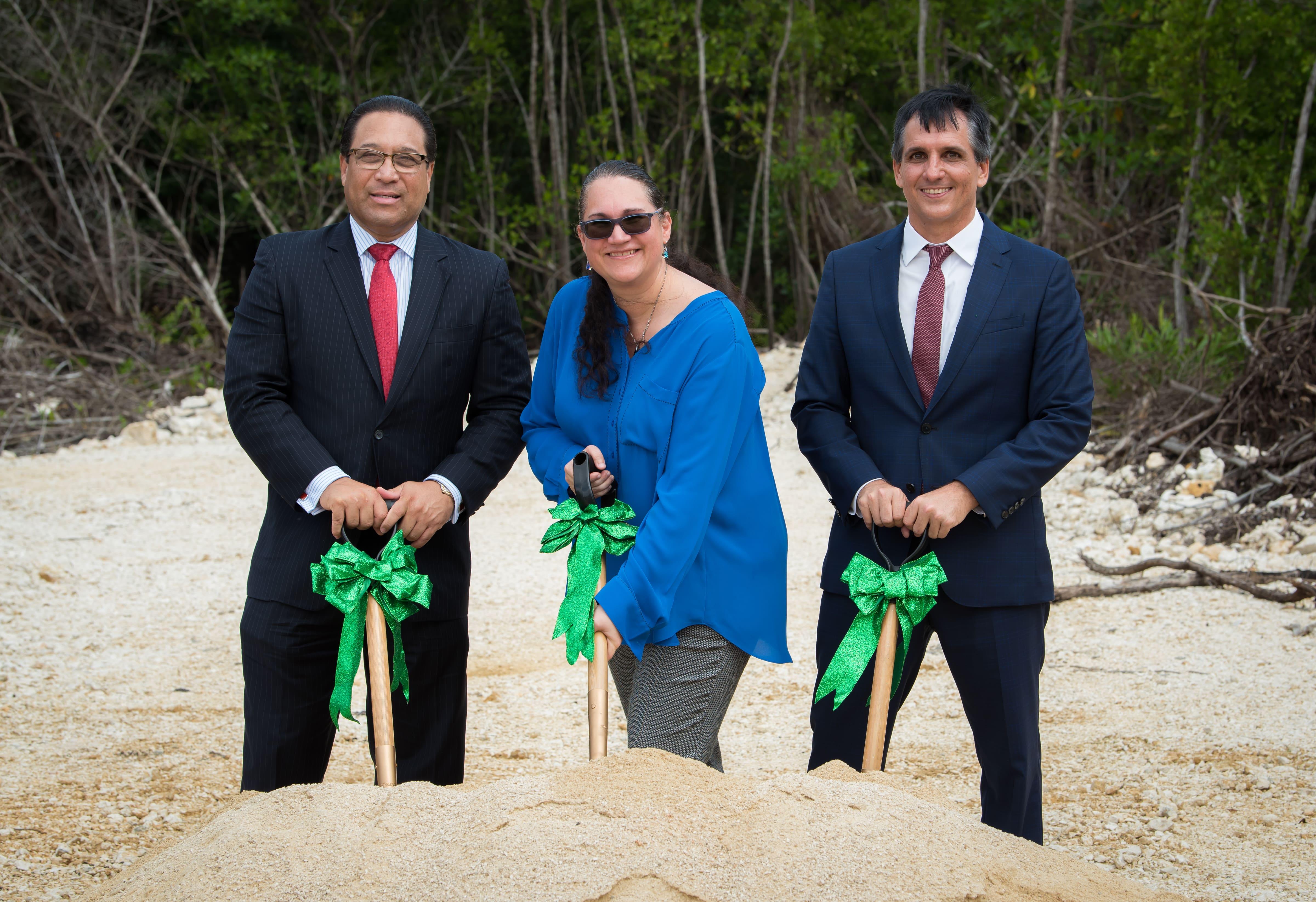 Groundbreaking Cayman Enterprise City Development