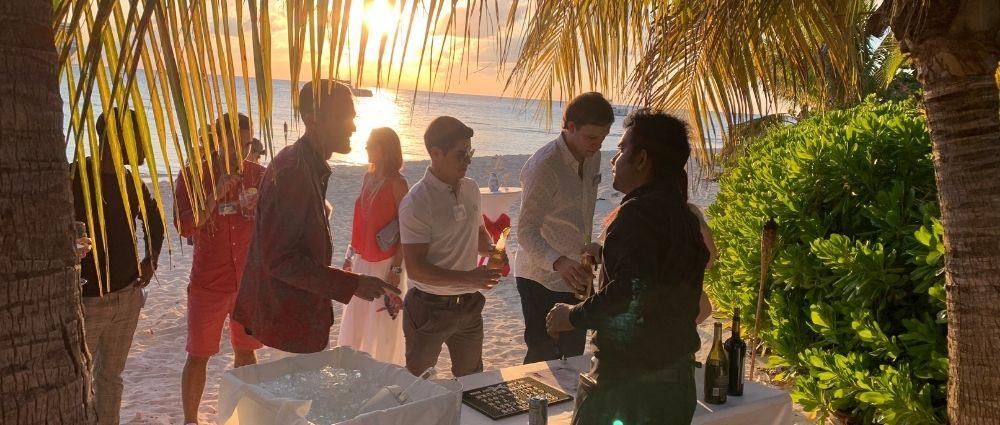 Christmas Party Event Cayman Enterprise City