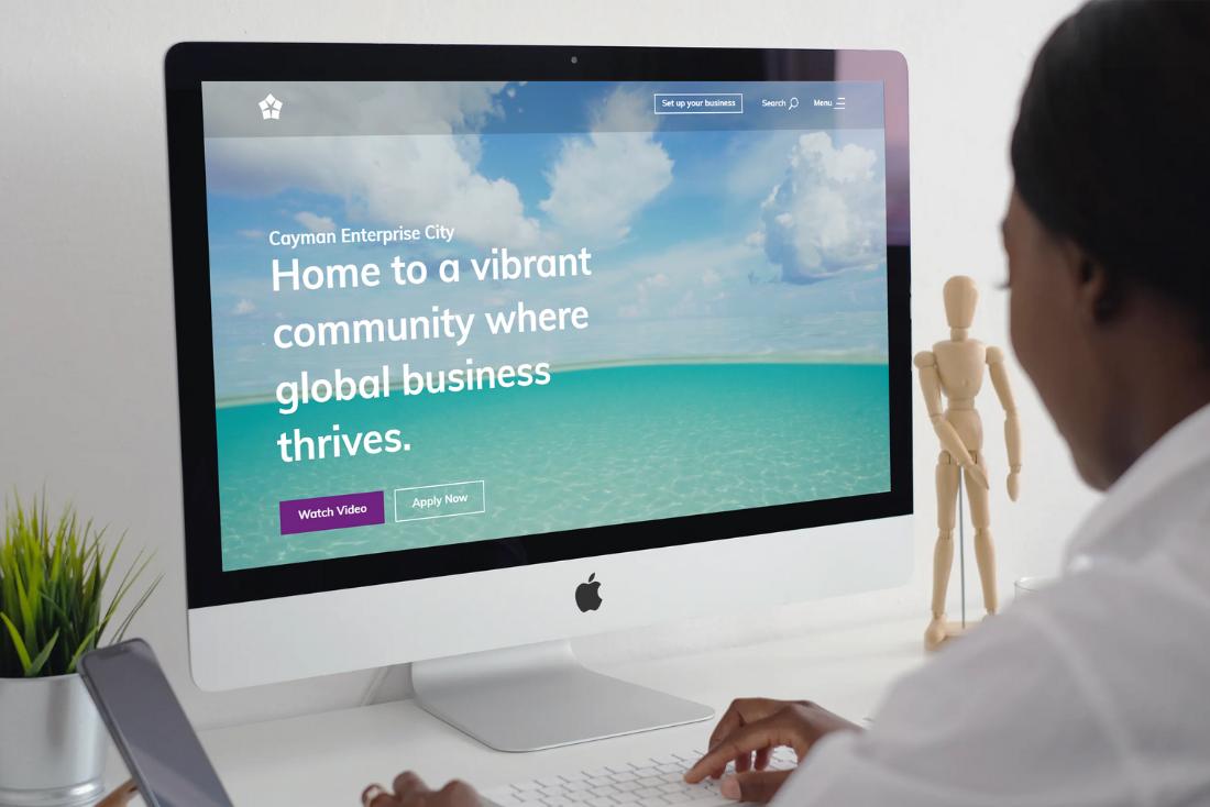 Cayman Enterprise City Website Receives Global Recognition for New Design